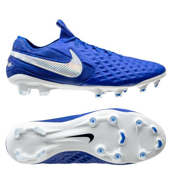 Tiempo Legend 8 Elite FG New Lights - Bleu/Blanc