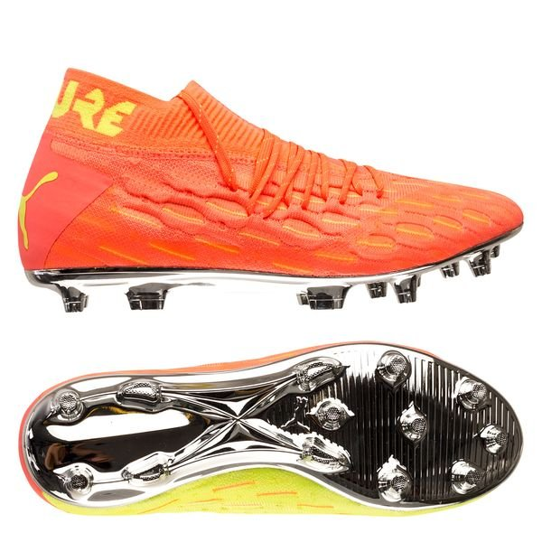 Future 5.1 Netfit FG Rise - Orange/Jaune