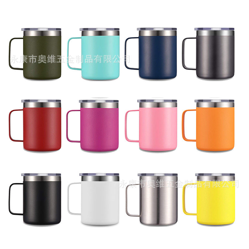 12oz Stainless Steel Mug