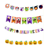 3.0m Halloween Banner Paper Hanging Pennant - Halo Toys & Electronics