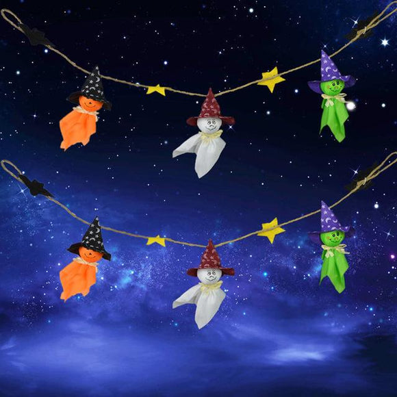 Halloween Ghost String Hanging Ornaments Hallowmas - Halo Toys & Electronics