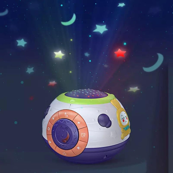 Musical Sleeping Star Projection Kids Night Light - Halo Toys & Electronics