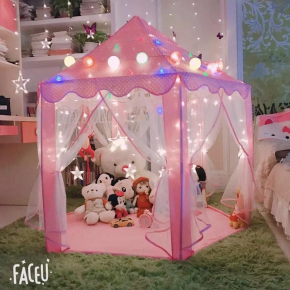 Cool New Kids Castle Tent Play House - Halo Toys & Electronics