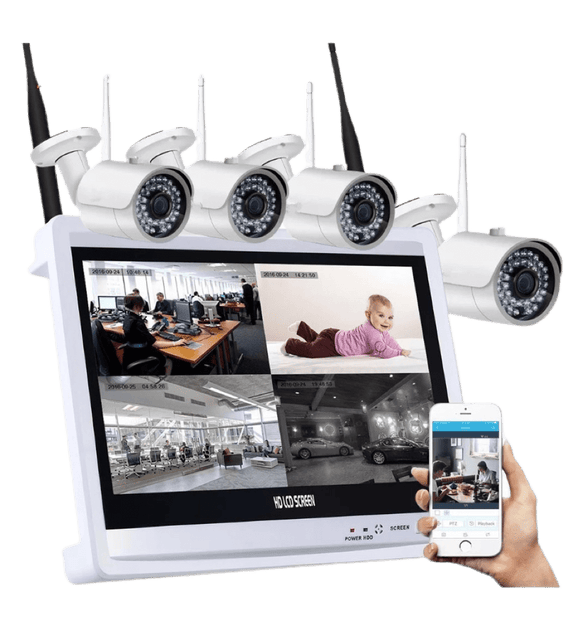 The New 2020 Halo Professional Security Surveillance System+ FREE SHIPPING - Halo Toys & Electronics