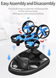 The 3-In-1 Speed Boat/Land Hovercraft Toy Drone