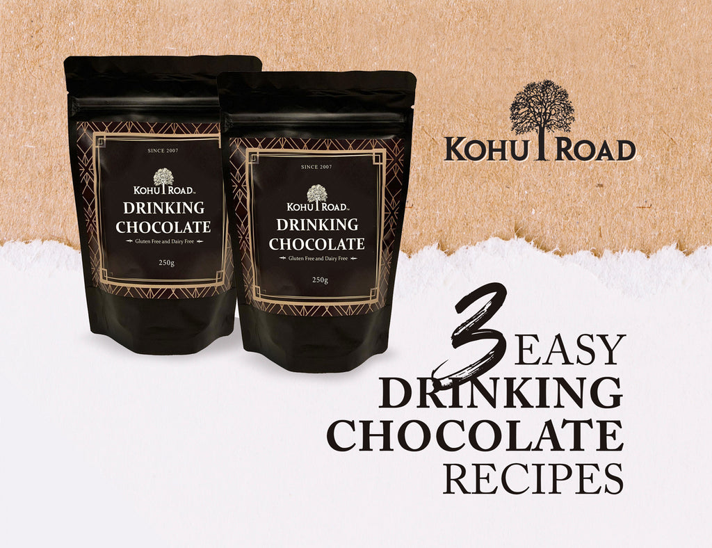 3 Easy Drinking Chocolate recipes