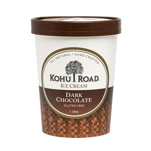 Kohu Road Dark Chocolate Ice Cream 1L