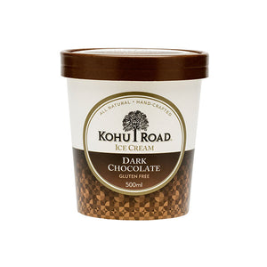 Kohu Road Dark Chocolate Ice Cream 500ml