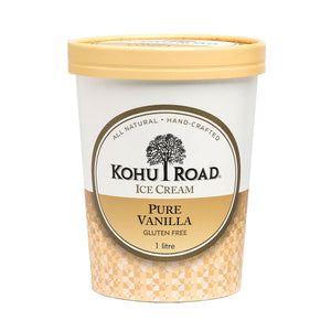 Kohu Road Pure Vanilla Ice Cream 1L
