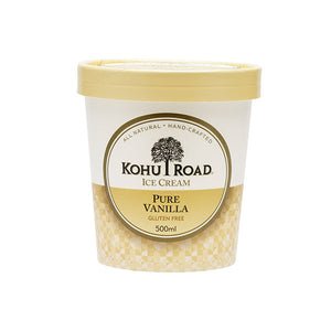 Kohu Road Pure Vanilla Ice Cream 500ml