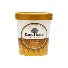 Load image into Gallery viewer, Kohu Road Salted Caramel Ice Cream 500ml