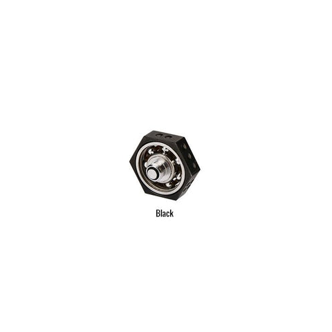 510 Threaded Hand Spinners, black. The Village Vaporette