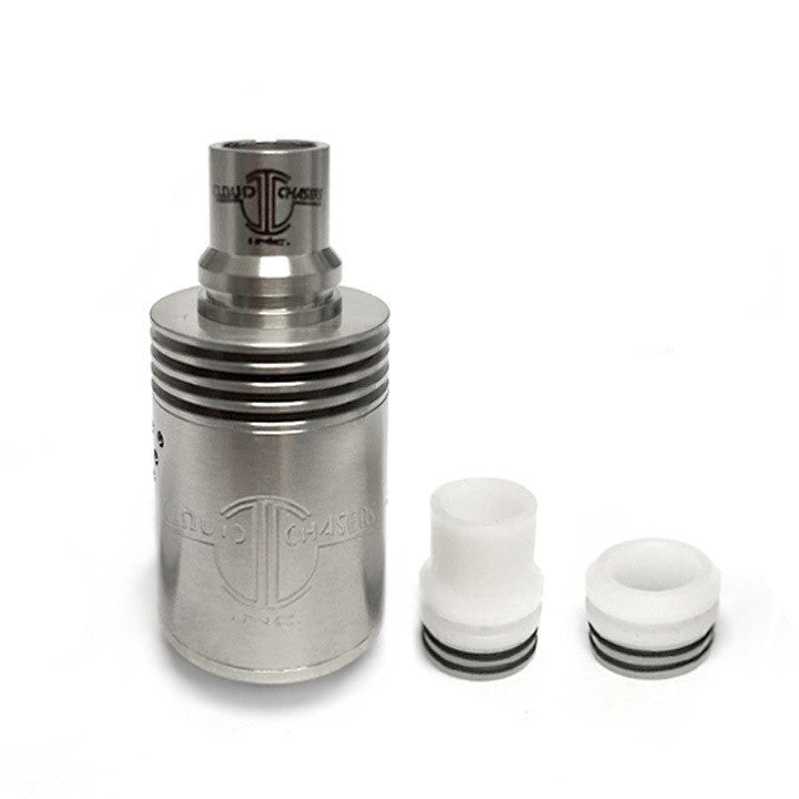 CCI Archon RDA, stainless. The Village Vaporette.