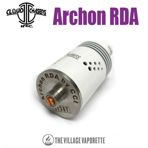 CCI Archon RDA, white copper pin. The Village Vaporette.