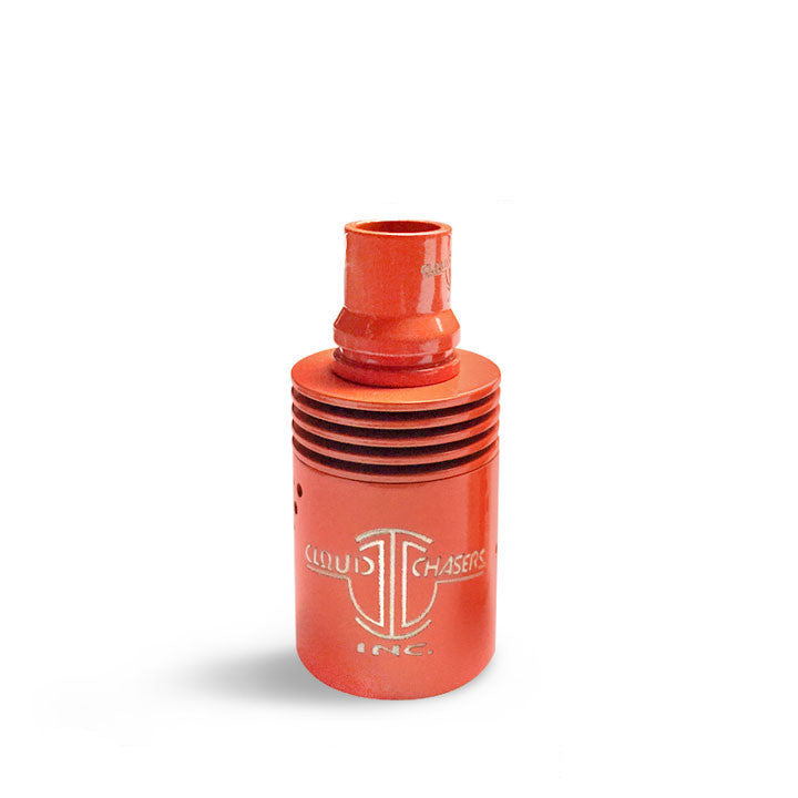 Archon RDA Coloured Barrels, orange. The Village Vaporette.