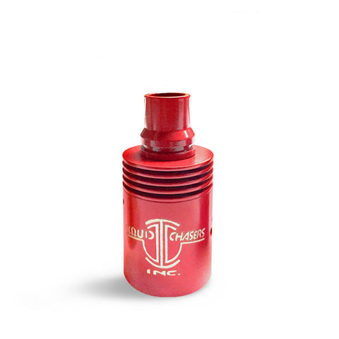 Archon RDA Coloured Barrels, red. The Village Vaporette.