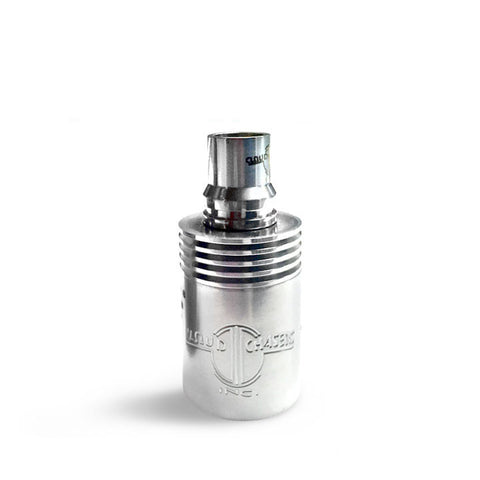 Archon RDA Coloured Barrels, stainless. The Village Vaporette.