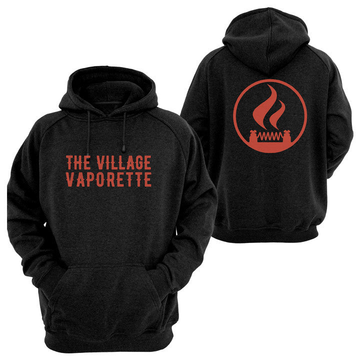 Unisex hoodies. The Village Vaporette.