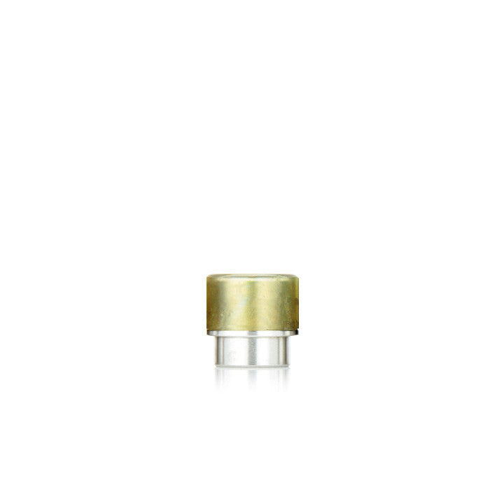 "Drip Tip - Metal - ""Tall Sparkly Kennedy / Comp Lyfe / Goon 528"", gold. The Village Vaporette."