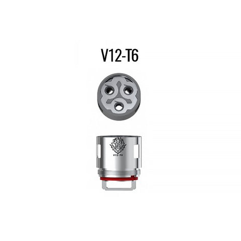 Smok TFV12 coils, T6. The Village Vaporette.