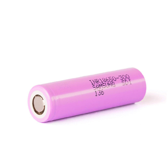 Samsung INR 3000mAh High Discharge Battery. The Village Vaporette