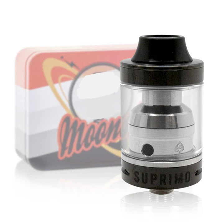 Sigelei Moonshot RTA, black. The Village Vaporette.