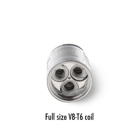 Smok Full Size TFV8 replacement coils, V8-T6. The Village Vaporette.