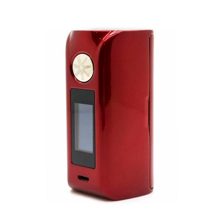 Asmodus Minikin V2 with Touch Screen, red. The Village Vaporette.