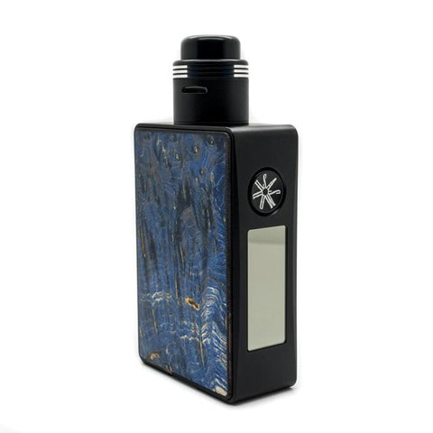 Asmodus SPRUZZA 80W Squonk Kit, blue. The Village Vaporette.