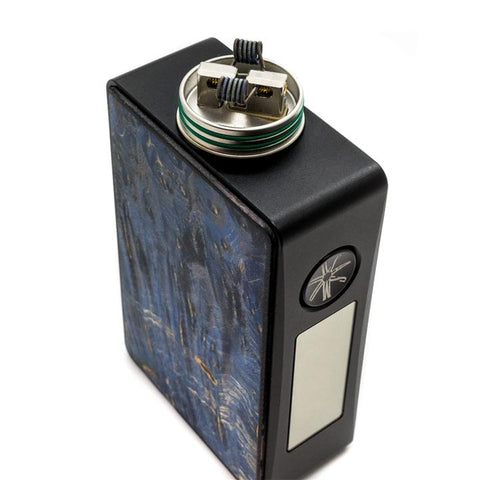 Asmodus SPRUZZA 80W Squonk Kit, Fonte RDA deck. The Village Vaporette.