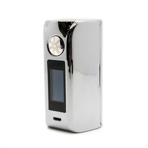 Asmodus Minikin V2 with Touch Screen, chrome. The Village Vaporette.