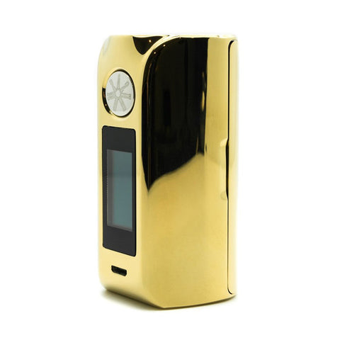 Asmodus Minikin V2 with Touch Screen, gold. The Village Vaporette.