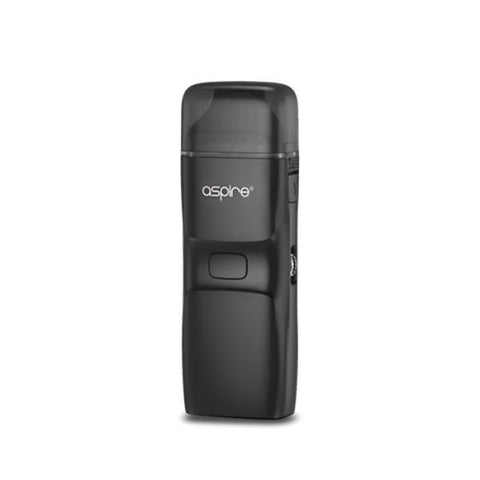 Aspire Breeze NXT Pod System, Black. The Village Vaporette, Cambridge, Ontario, Canada, pod vape, auto puff, adjustable airflow, MTL, DTL, 5.4mL capacity, replaceable coils, open pod, refillable, all in one, aio,