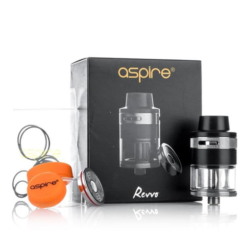 Aspire Revvo Tank, packaging. The Village Vaporette.