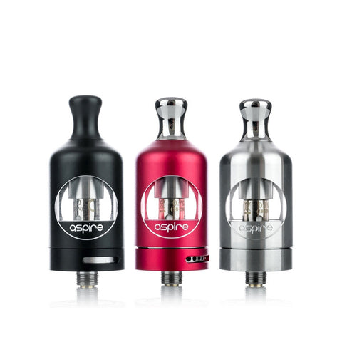 Aspire Nautilus 2, black, red, silver. The Village Vaporette.