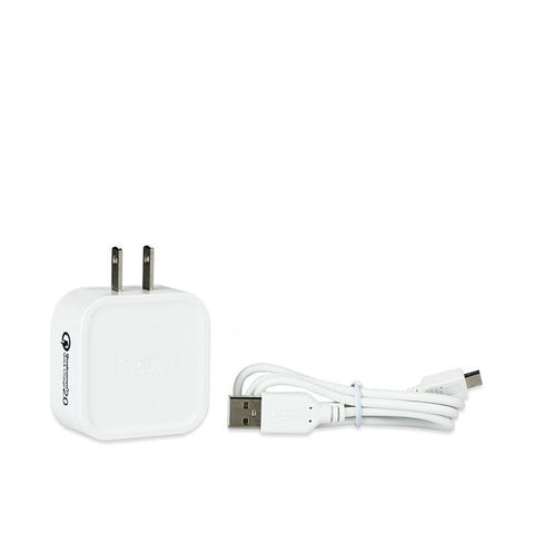 Avatar QC2 Quickcharger, up to 2A. White. The Village Vaporette