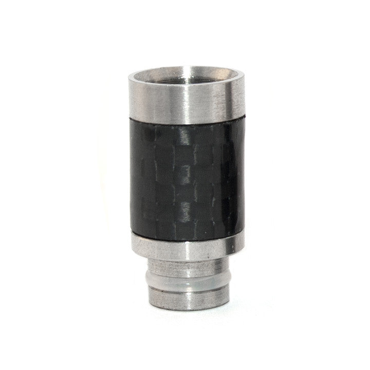 Carbon fiber 510 drip tip. The Village Vaporette.