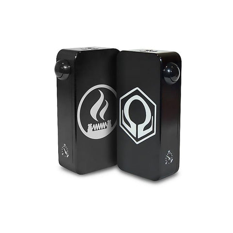 Craving Vapor Hexohm v3.0, Village Vaporette Edition, black front and back logos. The Village Vaporette.