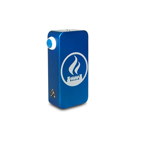 Craving Vapor Hexohm v3.0, Village Vaporette Edition, blue anodized finish. The Village Vaporette.