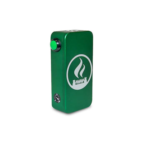 Craving Vapor Hexohm v3.0, Village Vaporette Edition, green anodized. The Village Vaporette.