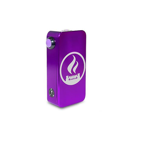 Craving Vapor Hexohm v3.0, Village Vaporette Edition, purple anodized finish. The Village Vaporette.