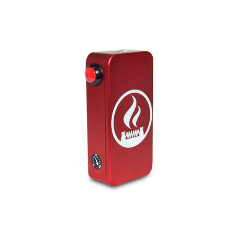 Craving Vapor Hexohm v3.0, Village Vaporette Edition, red anodized finish. The Village Vaporette.