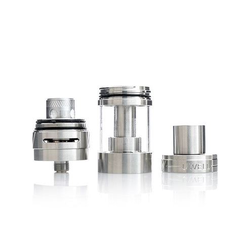 Uwell Crown II Tank, parts. The Village Vaporette.