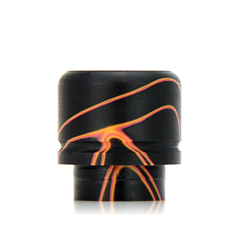 Czar American Made TFV8 Drip Tips, black/orange. The Village Vaporette.