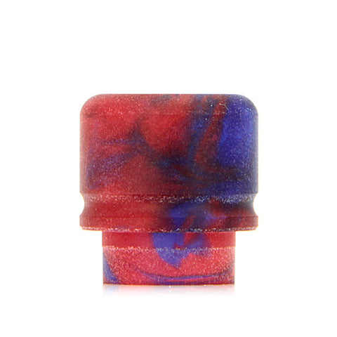 Czar American Made TFV8 Drip Tips, blue/red. The Village Vaporette.