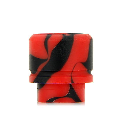 Czar American Made TFV8 Drip Tips, red/black. The Village Vaporette.