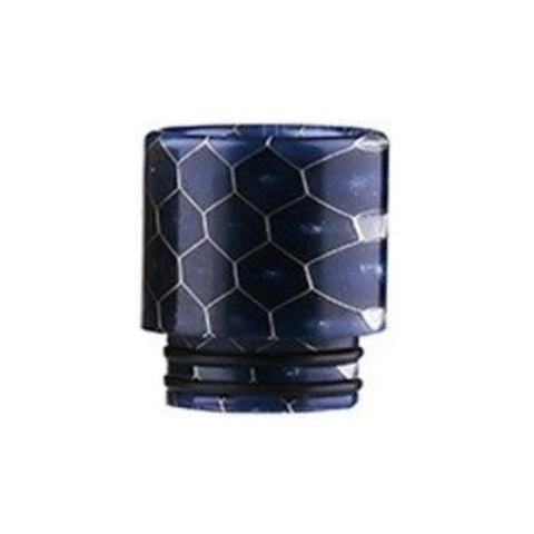 Demon Killer Cobra Resin Drip Tips, 810 style, Purple. The Village Vaporette, Cambridge, Ontario, Canada, snakeskin, 810, 510, double o-rings,