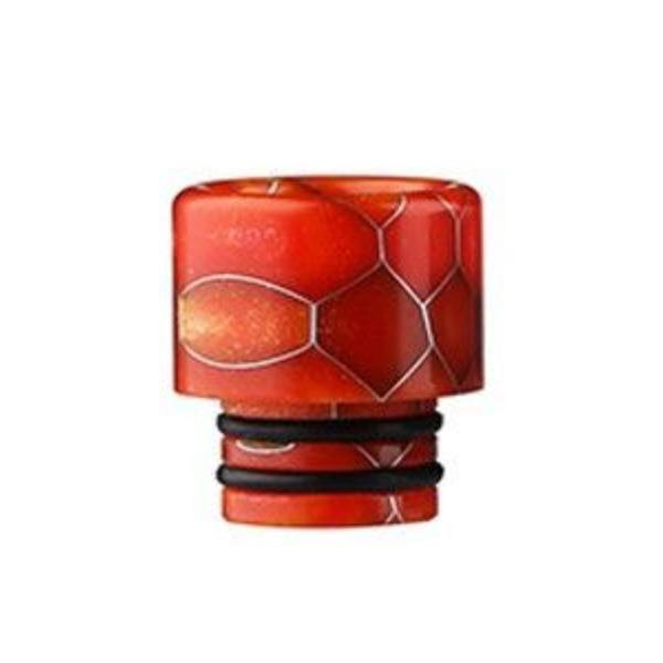Demon Killer Cobra Resin Drip Tips, 510 style, Orange. The Village Vaporette, Cambridge, Ontario, Canada, snakeskin, 810, 510, double o-rings,