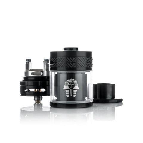 Digiflavor Pharaoh RTA, parts. The Village Vaporette.
