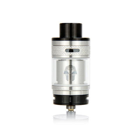 Digiflavor Pharaoh RTA, silver. The Village Vaporette.